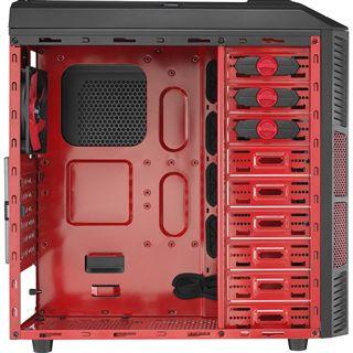AeroCool XPredator X1 Devil Red Edition Midi Tower ohne Netzteil