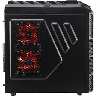 AeroCool Xpredator X1 Black Edition Midi Tower ohne Netzteil schwarz