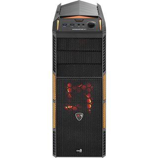 AeroCool Xpredator X1 Evil Black Edition Midi Tower ohne Netzteil