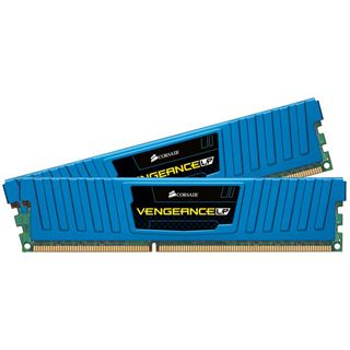 16GB Corsair Vengeance LP blau DDR3-1600 DIMM CL10 Dual Kit
