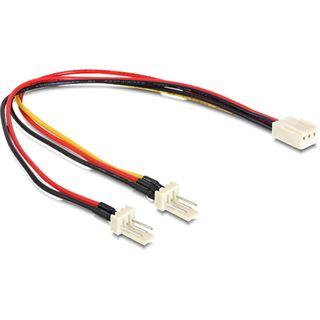 Delock Y-Kabel für 3-Pin Molex (89343)