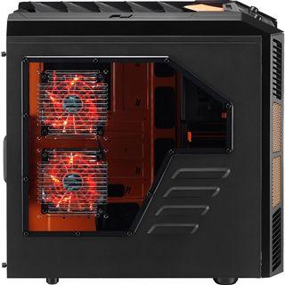 AeroCool XPredator X3 Evil Black Edition mit Sichtfenster Midi Tower
