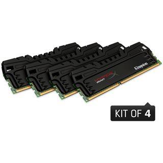 32GB Kingston HyperX Beast DDR3-1600 DIMM CL9 Quad Kit