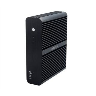 Akasa Euler ITX Tower 120 Watt schwarz