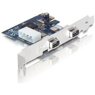 Delock PCIe Card 2x FireWire400 ext