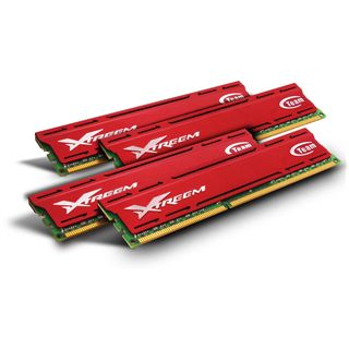 32GB TeamGroup Xtreem Vulcan DDR3-2133 DIMM CL11 Quad Kit