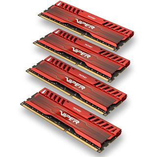 16GB Patriot Viper 3 Series Venom Red DDR3-2133 DIMM CL11 Quad Kit