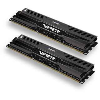 8GB Patriot Viper 3 Series Black Mamba DDR3-1866 DIMM CL9 Dual Kit