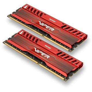 16GB Patriot Viper 3 Series Venom Red DDR3-1866 DIMM CL10 Dual Kit