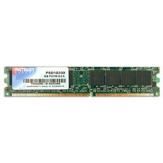 1GB Patriot Signature Line DDR-333 DIMM CL2.5 Single