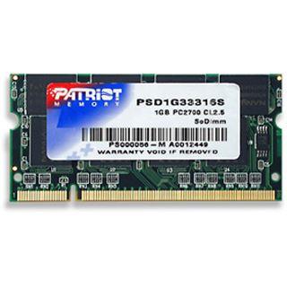 1GB Patriot Signature DDR-333 SO-DIMM CL2.5 Single