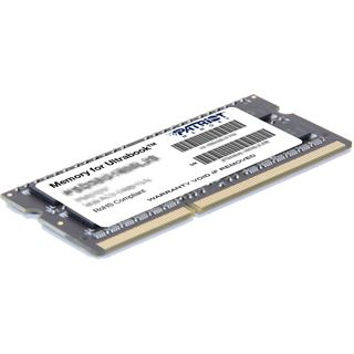 4GB Patriot Memory for Ultrabook DDR3-1600 SO-DIMM CL9 Single