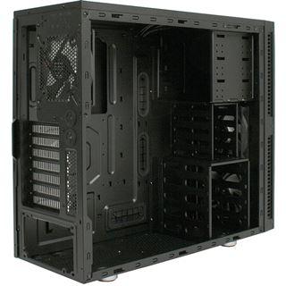 Cooltek Antiphon Midi Tower ohne Netzteil schwarz