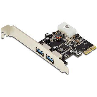 Digitus DS-30220-4 2 Port PCIe 2.0 x1 inkl. Low Profile Slotblech