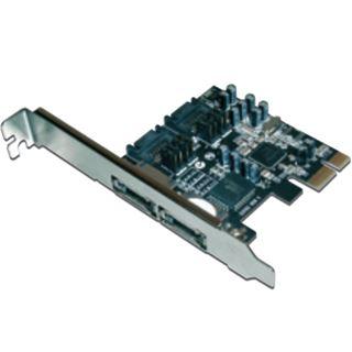 Digitus PCIe SATA II 300 Raid Controller, 2-Port Karte