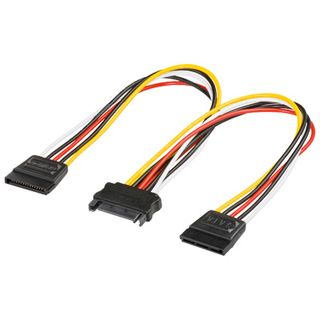 (€32,67*/1m) 0.15m Good Connections SATA Stromadapterkabel SATA