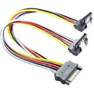 0.30m Good Connections SATA Anschlusskabel gewinkelt unten SATA