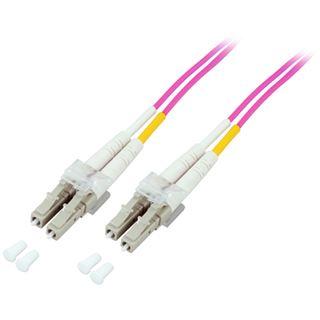 7.00m Good Connections LWL Duplex Patchkabel 50/125 µm OM4 LC