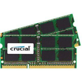 8GB Crucial CT2C4G3S1067MCEU DDR3-1066 SO-DIMM CL7 Dual Kit