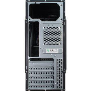 Inter-Tech SY-120 Midi Tower ohne Netzteil schwarz