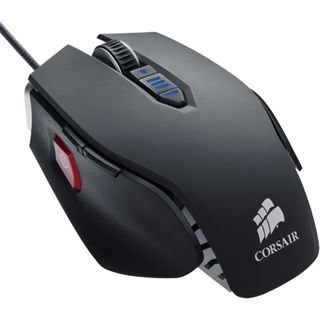 Corsair Vengeance M65 FPS Laser Gaming Mouse Gunmetal USB schwarz