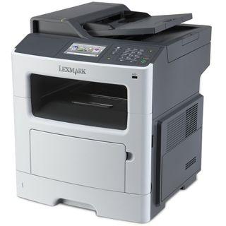 Lexmark MX410de S/W Laser Drucken/Scannen/Kopieren/Faxen LAN/USB 2.0
