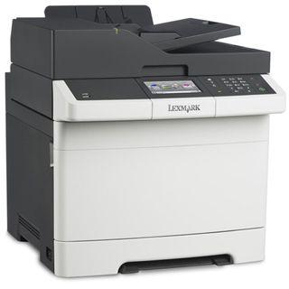 Lexmark CX410e Farblaser Drucken/Scannen/Kopieren/Faxen LAN/USB 2.0