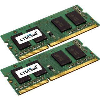 8GB Crucial CT2C4G3S160BMCEU DDR3-1600 SO-DIMM CL11 Dual Kit