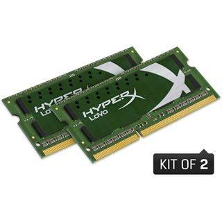 16GB HyperX Plug n Play DDR3L-1600 SO-DIMM CL12 Dual Kit