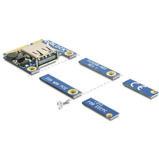 Delock 95235 1 Port PCIe Mini Card retail