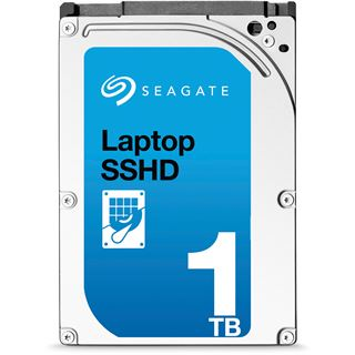 """1000GB Seagate Laptop SSHD ST1000LM014 64MB 2.5"""" (6.4cm) SATA"""