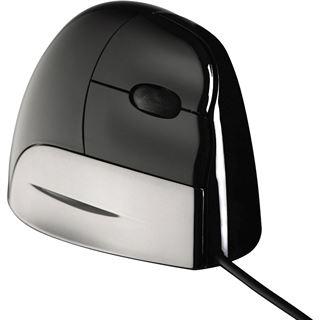 Evoluent Vertical Mouse Standard Rechte Hand USB schwarz