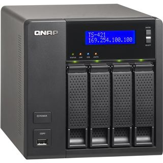 QNAP Turbo Station TS-421 ohne Festplatten