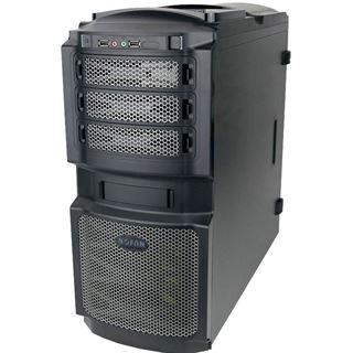 Nofan CS-80 Midi Tower ohne Netzteil schwarz