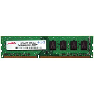 2GB takeMS Value DDR3-1333 DIMM CL8 Single