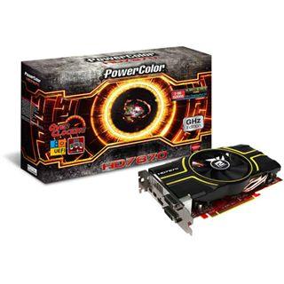 2GB PowerColor Radeon HD 7870 GHz Edition OC Aktiv PCIe 3.0 x16
