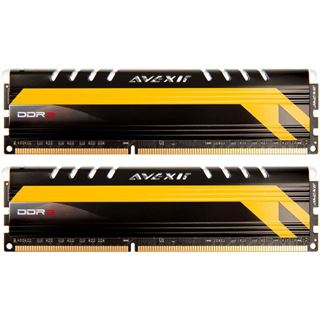 8GB Avexir Core Series MPOWER Edition gelbe LED DDR3-1600 DIMM CL9