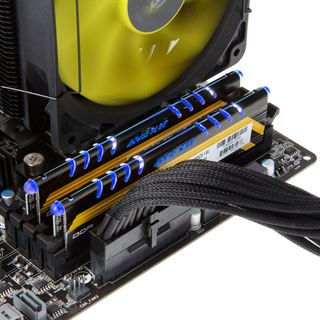 8GB Avexir Core Series MPOWER Edition blaue LED DDR3-2400 DIMM CL10
