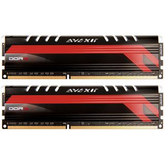 8GB Avexir Core Series MPOWER Edition rote LED DDR3-1600 DIMM CL9
