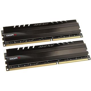 8GB Avexir Core Series orange LED DDR3-1600 DIMM CL9 Dual Kit