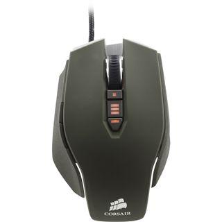 Corsair Vengeance M65 FPS Laser Gaming Mouse USB dunkelgrün
