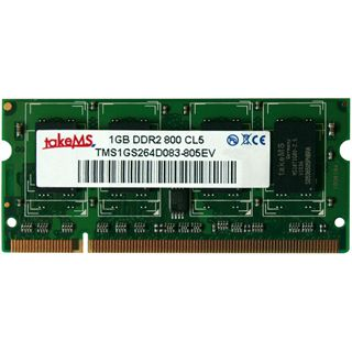 1GB takeMS TMS1GS264D081-805AV DDR2-800 SO-DIMM CL5 Single