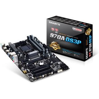 Gigabyte GA-970A-DS3P AMD 970 So.AM3+ Dual Channel DDR3 ATX Retail