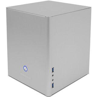 Cooltek Coolcube ITX Tower ohne Netzteil silber
