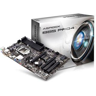 ASRock B85 Pro4 Intel B85 So.1150 Dual Channel DDR3 ATX Retail
