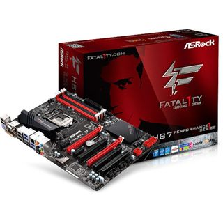 ASRock Fatal1ty H87 Performance Intel H87 So.1150 Dual Channel DDR3