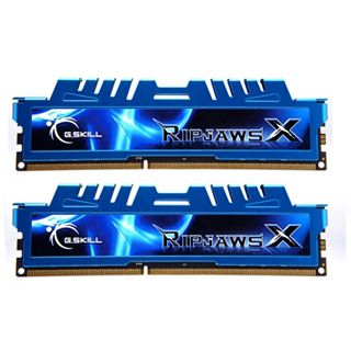 8GB G.Skill RipJawsX DDR3-2400 DIMM CL11 Dual Kit