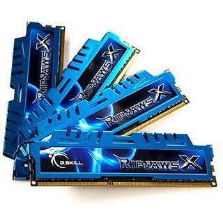 16GB G.Skill RipJawsX DDR3-2133 DIMM CL10 Quad Kit
