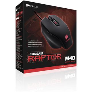 Corsair Raptor M40 Gaming Mouse USB schwarz (kabelgebunden)