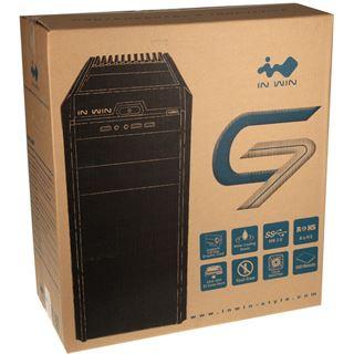 IN WIN G7 Midi Tower ohne Netzteil grau